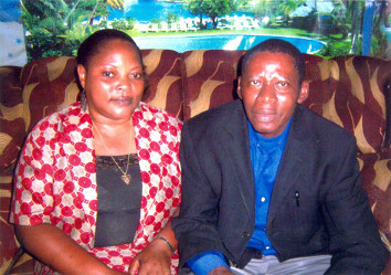 Pastor Gervase Martin Masanja and his wife Miriam
