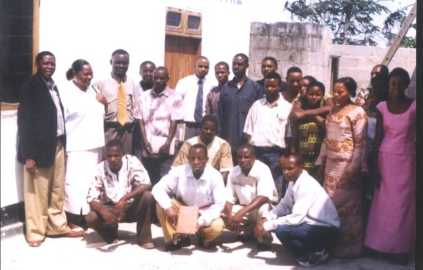 Pastor Gervase Masanja and the leadership of the churches
